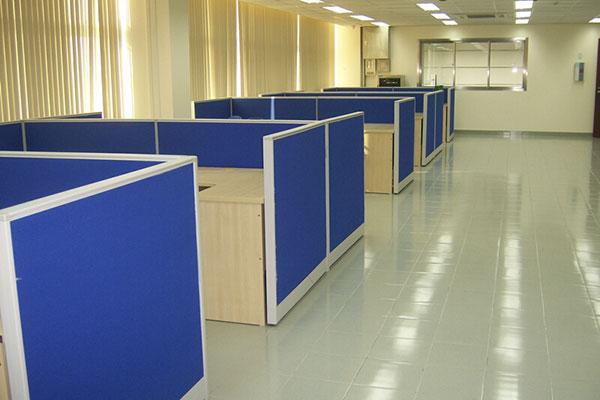 Mua vách ngăn văn phòng bằng nỉ giá rẻ ở Nội Thất Dương Gia