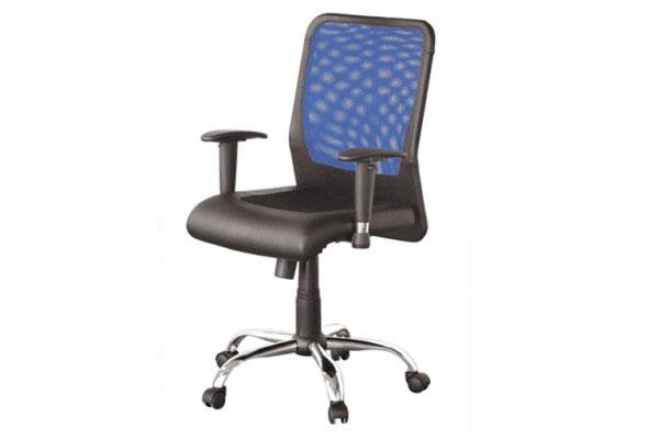 Ghế xoay văn phòng Giám đốc GX08.1-M chân mạ hiện đại