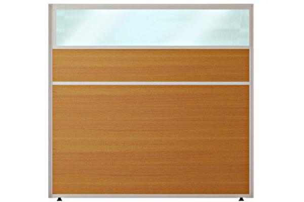 Vách ngăn văn phòng C32VVK gỗ kính sang trọng
