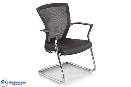 Ghế phòng họp chân quỳ GQ14-M chân mạ hiện đại