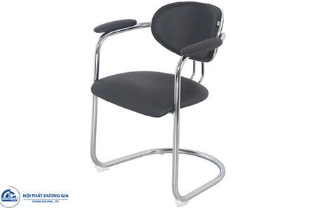 Ghế phòng họp chân quỳ GQ16-M lưng thấp, hiện đại