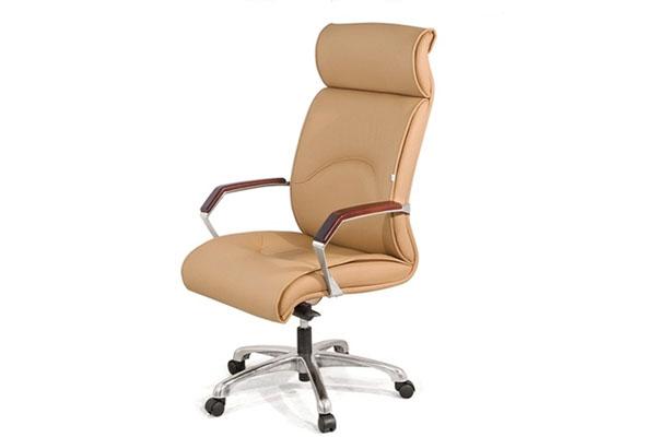 Ghế xoay văn phòng Giám đốc GX201.3-M chân mạ hiện đại