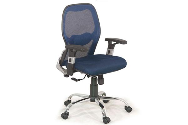 Ghế xoay văn phòng Giám đốc GX205B-M chân mạ đẹp