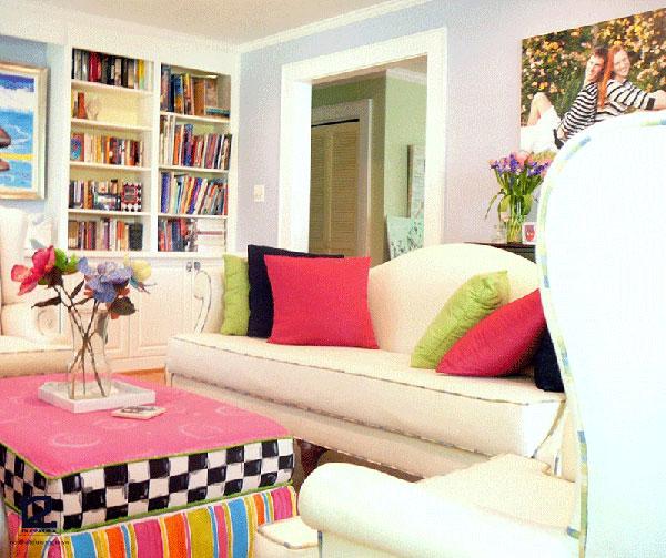 Phong cách thiết kế nội thất Colour block