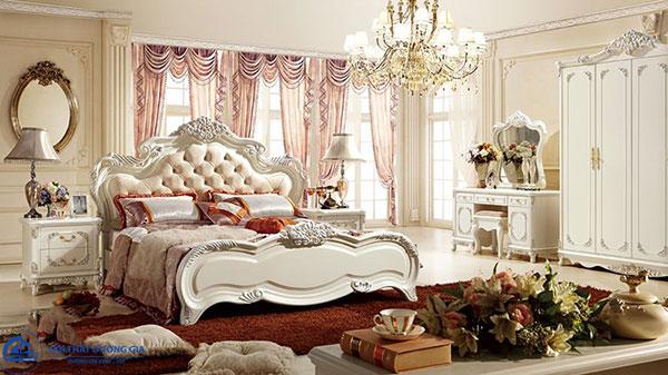 Giường ngủ theo phong cách tân cổ điển