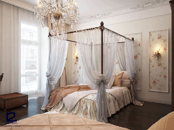 Phong cách thiết kế nội thất Romanticism