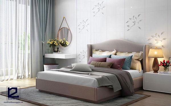Mẫu thiết kế nội thất phòng ngủ theo phong cách Retro số 3