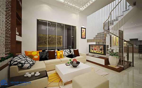 Nội thất đương đại thường dùng những món đồ nội thất làm từ chất liệu tự nhiên như len, cotton,...