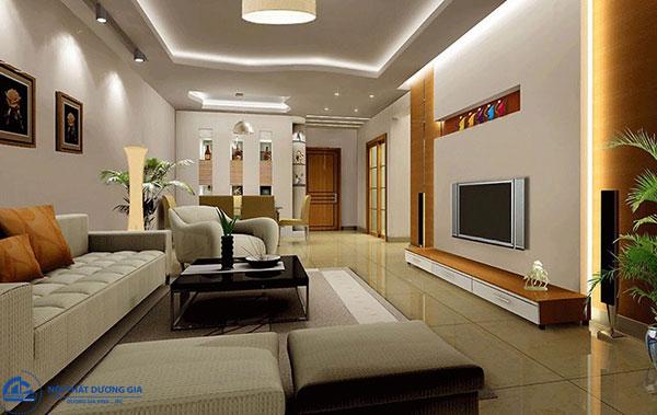 Chất liệu trong phong cách thiết kế nội thất hiện đại