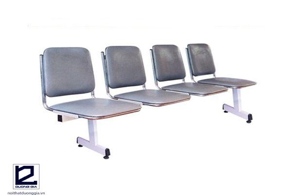 Ghế phòng chờ GS-30-00H khung sắt, đệm mút