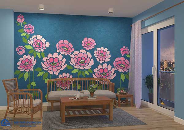 Họa tiết trong phong cách thiết kế nội thất nhiệt đới Tropical Style