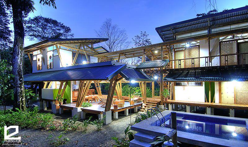 Mãn nhãn với những mẫu nhà được thiết kế nội thất bằng tre trúc