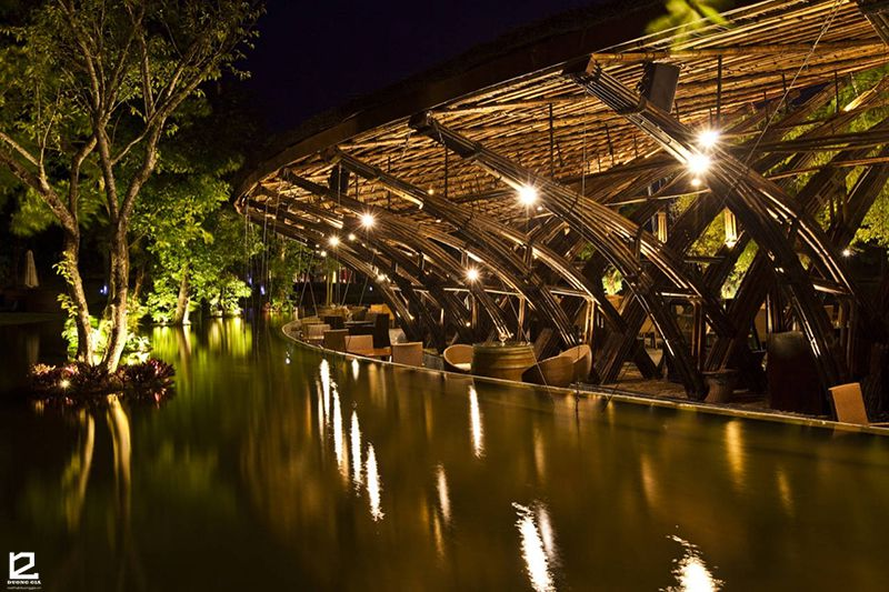 Thiết kế nhà tre Bamboo Wing