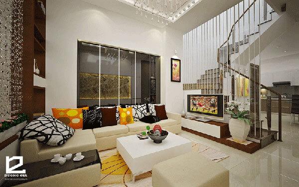 Nội thất phòng khách đẹp giúp các thành viên gia đình trở nên gần gũi đồng thời tạo dấu ấn đặc biệt với các vị khách