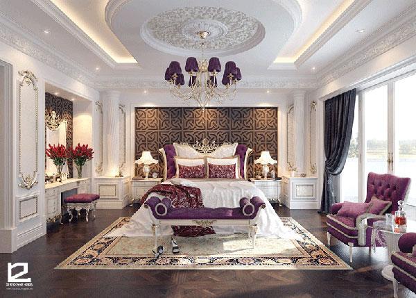 Màu sắc đặc trưng của nội thất cổ điển Pháp