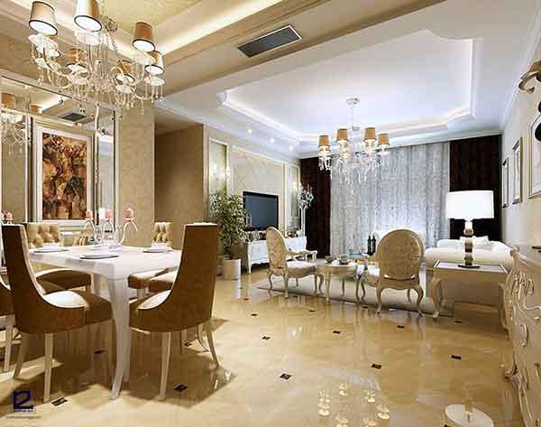 Màu sắc trung tính trong phong cách thiết kế nội thất cổ điển