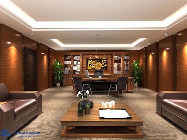 Mẫu thiết kế nội thất hiện đại cho không gian phòng Giám đốc