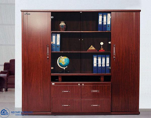 Mẫu nội thất gỗ hiện đại 4 - Tủ Giám đốc DC2200H2