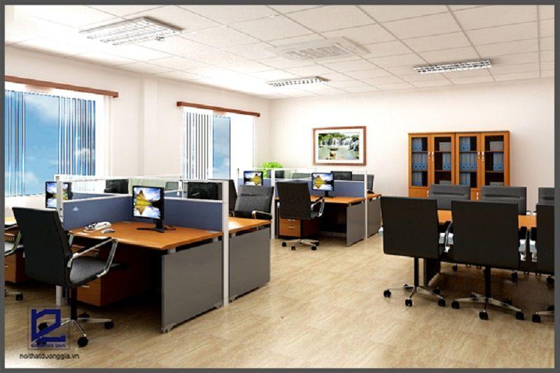 Đặc điểm của phong cách nội thất hiện đại ưu tiên sự tối gián trong kiểu dáng, đường nét thiết kế.