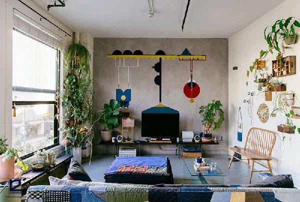 Phong cách Bohemian trong thiết kế nội thất