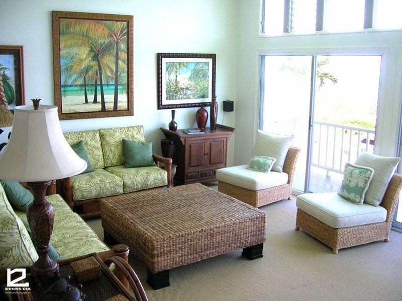 Đổi gió với phong cách thiết kế nội thất nhiệt đới Tropical Style