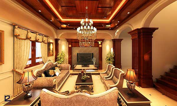 Phong cách thiết kế nội thất cổ điển châu Âu