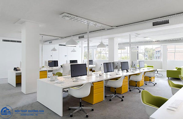 Phong cách thiết kế nội thất hiện đại ưu tiên sự tối giản trong đường nét thiết kế.