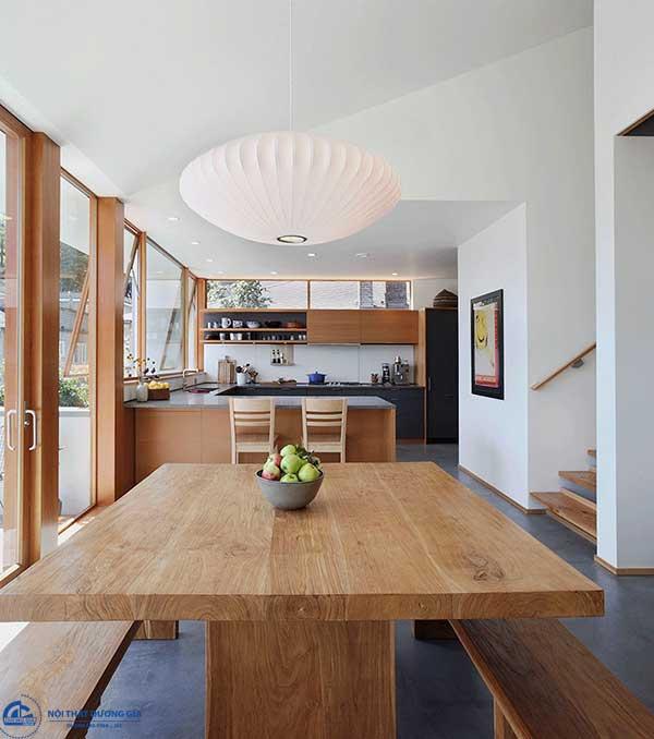 Phong cách thiết kế nội thất hiện đại phù hợp với không gian nhỏ