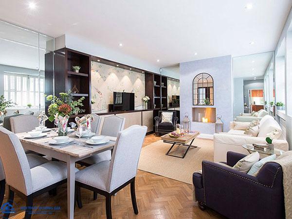 Phong cách thiết kế nội thất thể hiện qua vẻ bề ngoài như màu sắc, chất liệu, kiểu dáng,... các món đồ nội thất