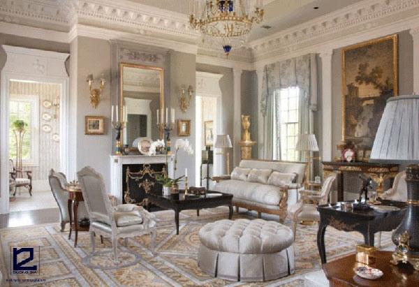 Sự linh hoạt của nội thất cổ điển Pháp