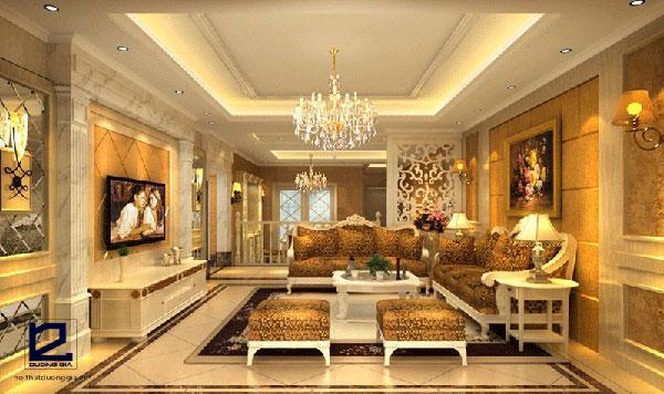Phong cách thiết kế nội thất tân cổ điển mang đến vẻ đẹp tinh tế, sang trọng