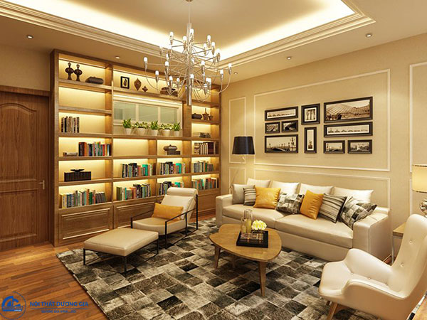 Nội thất cần được chú ý khi thiết kế nhà phong cách Art Deco