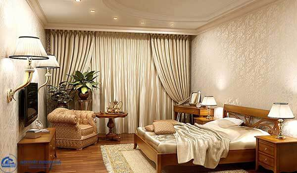 Thiết kế phòng ngủ phong cách Hàn Quốc lịch lãm