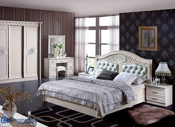 Thiết kế phòng ngủ Hàn Quốc sang trọng