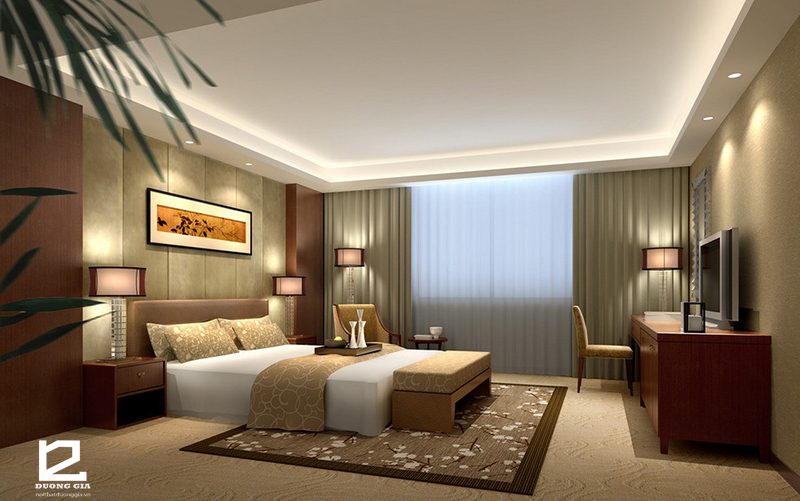 Các phong cách thiết kế nội thất khách sạn độc đáo nhất 2018