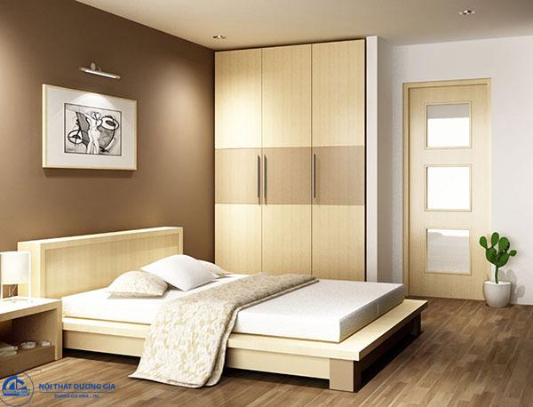 Cách bố trí phòng trong khách sạn - phòng Standard (STD)