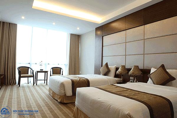 Cách bố trí phòng trong khách sạn - phòng Superior (SUP)