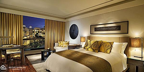 Cách bố trí phòng trong khách sạn đối với loại hình phòng Deluxe (DLX)