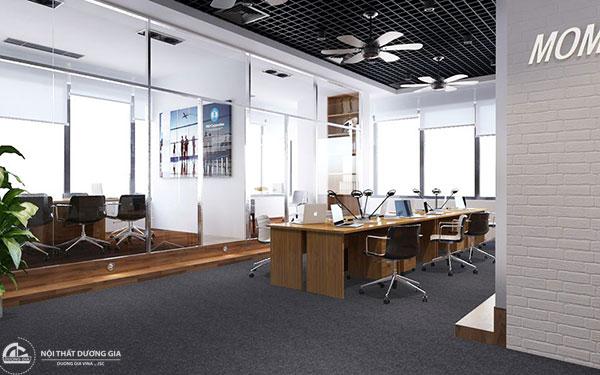 Cách bố trí phòng làm việc tập thể - Phòng nhân viên
