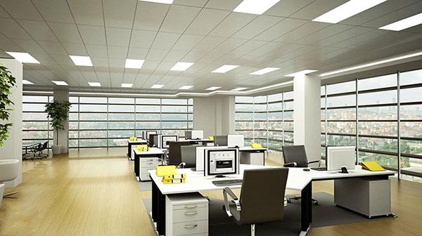 Bố trí văn phòng làm việc hiện đại phù hợp với diện tích không gian