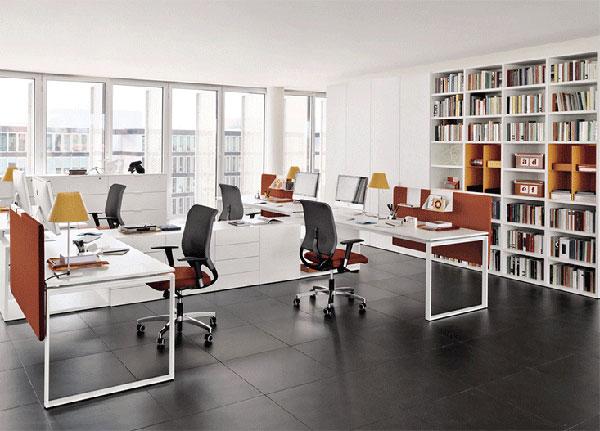 Cách bố trí văn phòng làm việc hiện đại bằng cách sắp xếp nội thất khoa học