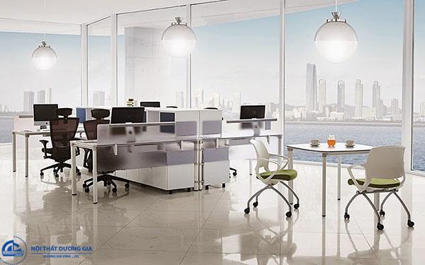 Sắp xếp, bố trí văn phòng làm việc nhỏ theo xu hướng mở