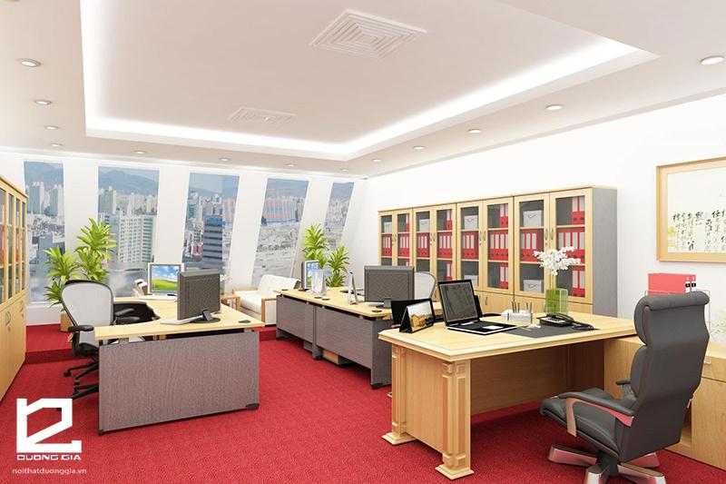Chọn cây để trong phòng làm việc chung có thể chọn những loại cây phù hợp với mệnh của người đứng đầu công ty.