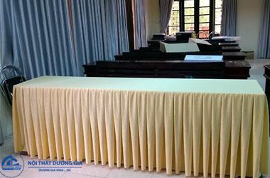 Mẫu khăn trải bàn hội nghị, phòng họp đẹp nhất