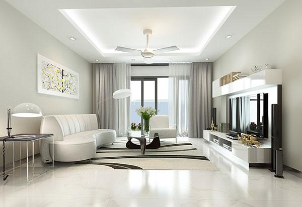 10 mẫu thiết kế nội thất căn hộ chung cư 60, 65, 70m2 đẹp, hiện đại