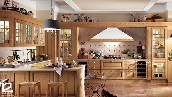 Mẫu nội thất bếp đẹp hiện đại 1