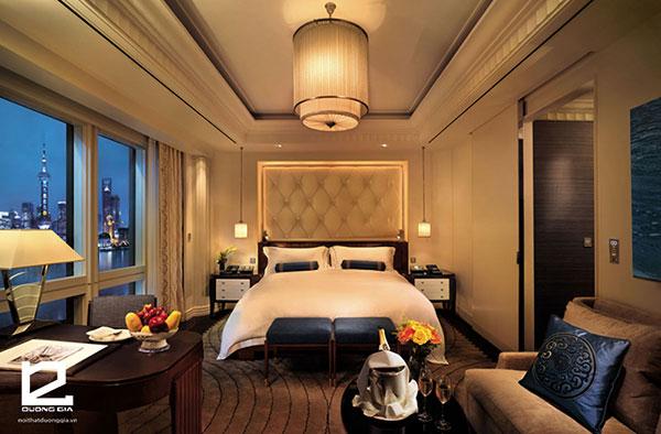Mẫu thiết nội thất khách sạn 5 sao cho không gian phòng ngủ số 1