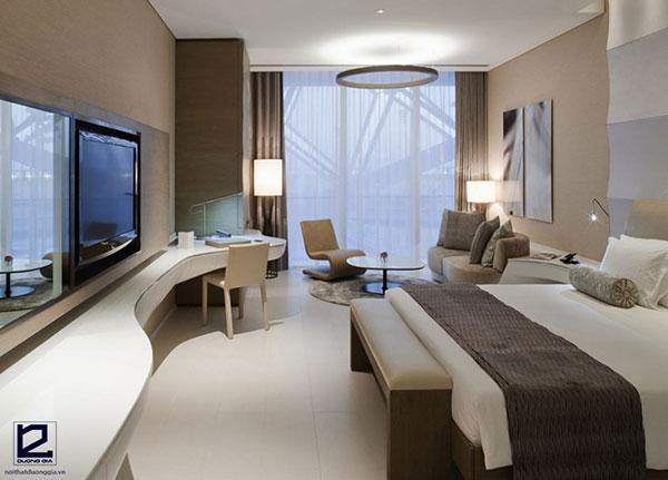 Mẫu thiết kế kế nội thất phòng ngủ khách sạn 5 sao số 7