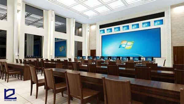Mẫu thiết kế phòng họp trực tuyến PHTT-DG02