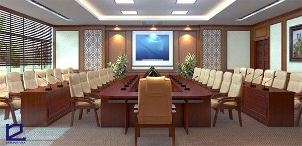 Mẫu thiết kế phòng họp trực tuyến PHTT-DG04